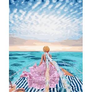 Прогулка по морю Раскраска картина по номерам на холсте GX24912
