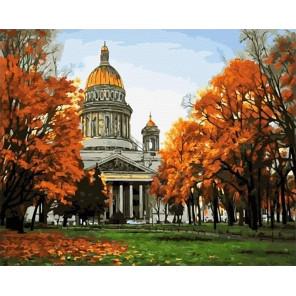 Сложность и количество цветов Исаакиевский собор. Санкт-Петербург Раскраска картина по номерам на холсте GX25986