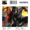Сложность и количество цветов Враг в отражении Раскраска картина по номерам на холсте GX33076