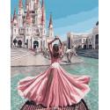 Пурпурное платье Раскраска картина по номерам на холсте MCA739