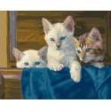 Трое из ларца Раскраска картина по номерам на холсте MCA889
