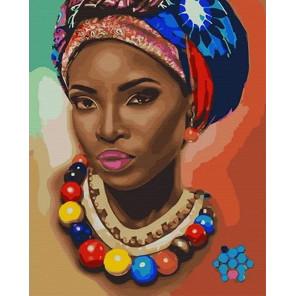 Стиль Африки Раскраска картина по номерам на холсте MCA890