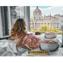 Счастливое утро Раскраска картина по номерам на холсте MCA943