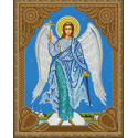 Ангел хранитель Алмазная 5D мозаика с нанесенной рамкой на подрамнике Molly KM0715