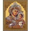 Вифлеемская Божия Матерь Алмазная 5D мозаика с нанесенной рамкой на подрамнике Molly KM0718