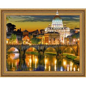Рим. Ватикан Алмазная мозаика вышивка на подрамнике Molly KM0642