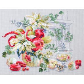 Зимняя импровизация Набор для вышивания Чудесная игла 120-011