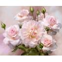 Розы освещенные солнцем. Бузин Алмазная мозаика вышивка без подрамника Molly KM0255
