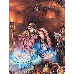 Рождение Иисуса Христа Алмазная мозаика на подрамнике