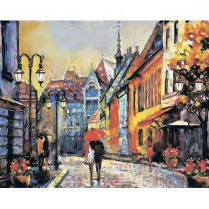 Город Европы Алмазная мозаика на подрамнике LG248