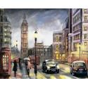 Красочный Лондон Алмазная мозаика на подрамнике LG251