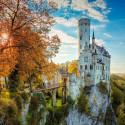 Замок Лихтенштайн Алмазная мозаика вышивка без подрамника Molly KM0221