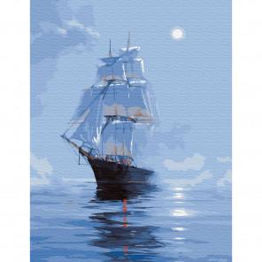 Мираж Картина по номерам с цветной схемой на холсте KK0622