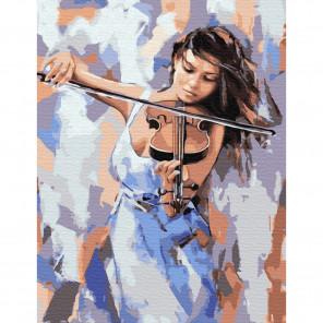 Звуки музыки Картина по номерам с цветной схемой на холсте KK0631