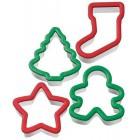 Рождество Формы металлические для вырезания печенья Wilton ( Вилтон )