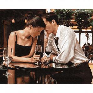 Романтическое свидание Раскраска по номерам на холсте KH0632