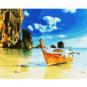 Тайланд. О Пхи-пхи Раскраска по номерам на холсте KH0653
