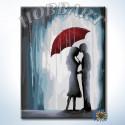 Влюбленные Раскраска по номерам на холсте Hobbart Lite HB3040161-Lite