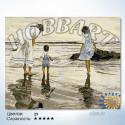 Море любви Раскраска по номерам на холсте Hobbart Lite HB4050013-LITE
