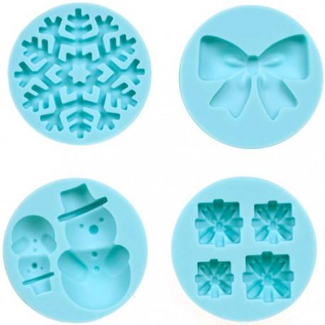 Зима Силиконовый молд для полимерной глины Марта Стюарт Martha Stewart