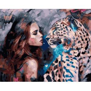Зеркало души Раскраска картина по номерам на холсте PK6013
