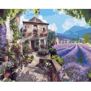 Угодье Прованса Раскраска картина по номерам на холсте GX32134