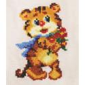 Веселый тигренок Набор для вышивания Золотое руно ВН-004