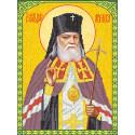 Святой Лука Крымский Набор для вышивки бисером Каролинка КБИН(Ч) 3028