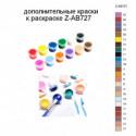 Дополнительные краски для раскраски Z-AB727