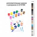 Дополнительные краски для раскраски Z-Z10160
