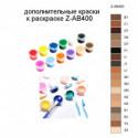 Дополнительные краски для раскраски Z-AB400