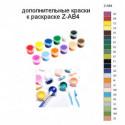 Дополнительные краски для раскраски Z-AB4
