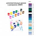 Дополнительные краски для раскраски Z4691