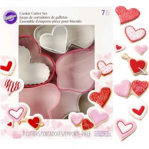 Сердца 7 шт Формы для вырезания печенья Wilton ( Вилтон )