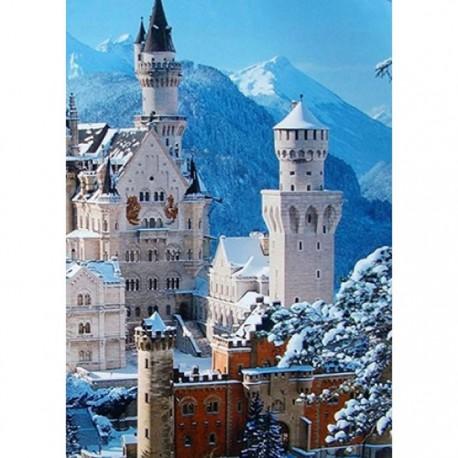 Зимний замок Алмазная вышивка (мозаика) Гранни