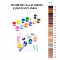 Дополнительные краски для раскраски A435