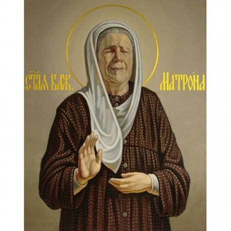 Святая Матрона Московская Алмазная вышивка (мозаика) Гранни
