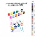 Дополнительные краски для раскраски A545