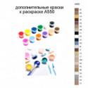 Дополнительные краски для раскраски A550