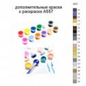 Дополнительные краски для раскраски A557