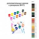 Дополнительные краски для раскраски BH13