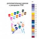 Дополнительные краски для раскраски F50