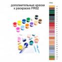 Дополнительные краски для раскраски FR02