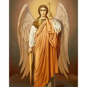 Святой Архангел Михаил Алмазная вышивка (мозаика) Гранни