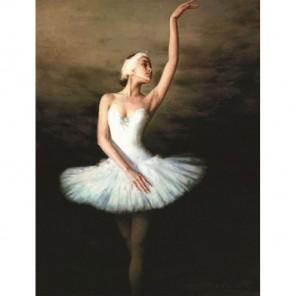 Балерина Алмазная вышивка (мозаика) Гранни