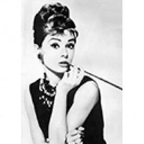 Одри Хепберн Алмазная вышивка (мозаика) Гранни
