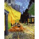 Ночное кафе Ван Гог Алмазная вышивка (мозаика) на подрамнике Color Kit