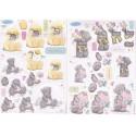 Пасхальное веселье Набор бумаги и высеченных элементов для скрапбукинга, кардмейкинга Docrafts