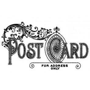 Почтовая марка Прозрачный силиконовый штамп для скрапбукинга, кардмейкинга Stamperia