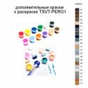 Дополнительные краски для раскраски TSVT-PERO1